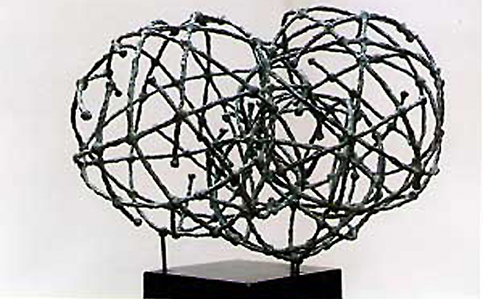 Into-the-air-bronze-70x65x40-cm-1997