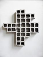 Urban-grid-white-ceramics-45x45x5-cm-2017