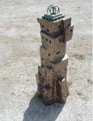 Lingam-V-ceramics-bronze-110x35x35-cm-2009